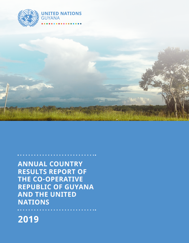 Government of the Co-operative Republic of Guyana/UN Country Results Report 2019